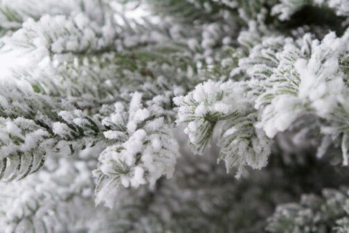 Ветви искусственной ели Аляска Заснеженная-1