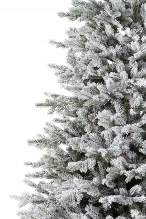 Ветви искусственной ели Аляска Заснеженная