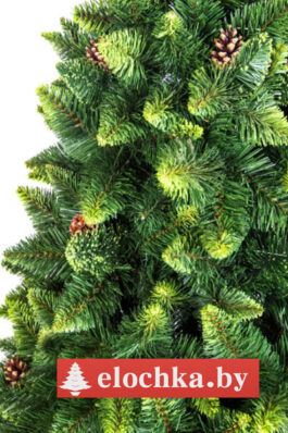 Ветви искусственной ели Хрустальная Зелёная